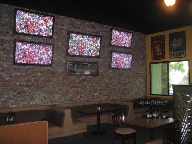 TVs Installed on the Wall